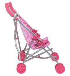Коляска-трость для кукол Gulliver розовая 53 см
