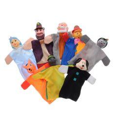 Кукольный театр Жирафики Буратино (8 кукол)