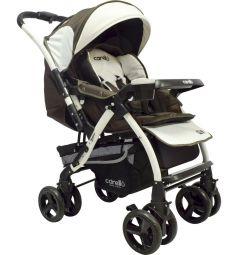 Прогулочная коляска Maxima Carello M8, цвет: коричневый