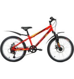 Детский велосипед Altair MTB HT 20 Disc, цвет: красный