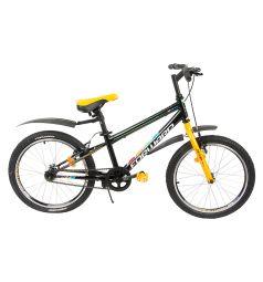 Детский велосипед Altair MTB FS 20, цвет: оранжевый/черный