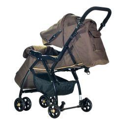 Прогулочная коляска Everflo Cricket Е-219, цвет: brown