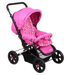 Прогулочная коляска Everflo E-400 luxe, цвет: fuchsia/розовый