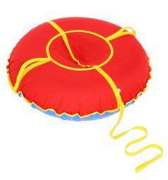 Санки надувные Иглу Сноу Oxford 80 см, цвет: красный