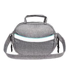 Сумка Prampol на коляску, цвет: серый/мятный