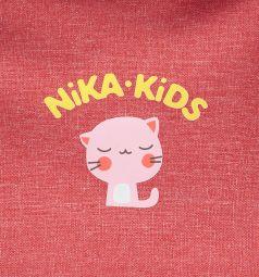 Санки-коляска Ника Детям 7-3 (2017), цвет: красный