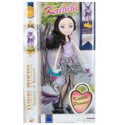 Кукла Kaibibi розовый топ серая юбка