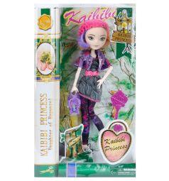 Кукла Kaibibi серое платье розовая шапочка