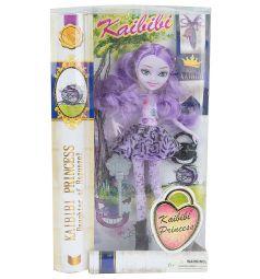 Кукла Kaibibi фиолетовые волосы фиолетовая юбка