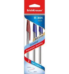 Ручка шариковая Erich Krause R-301 Classic 1.0 Stick 3 шт.