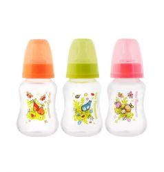 Бутылочка Мир Детства с силиконовой соской полипропилен, 125 мл,