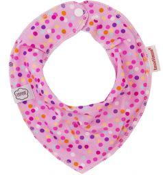 Нагрудник ImseVimse, цвет: pink bubbles