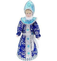 Кукла Новогодняя сказка Снегурочка синяя