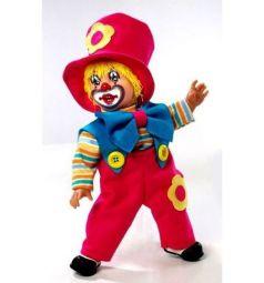 Кукла Arias Elegance в красном костюме с синим бантом 38 см