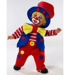 Кукла Arias Elegance в красном костюме с желтым бантом 38 см