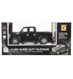 Машина на радиоуправлении GK Racer Series FORD F-350 SUPER DUTY PLATINUM черный 1 : 28