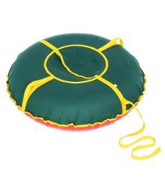 Санки надувные Иглу Сноу Oxford 70 см, цвет: зеленый