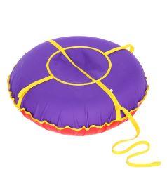 Санки надувные Иглу Сноу Oxford 80 см, цвет: фиолетовый