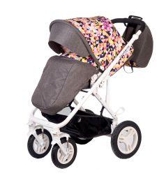 Прогулочная коляска BabyHit Favorite, цвет: серый/мозайка