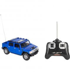 Машина на радиоуправлении GK Racer Series HUMMER H2 SUT синий 1 : 24