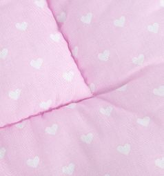 Подушка Удаева 40 х 60 см, цвет: розовый