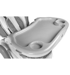 Стульчик для кормления Caretero Bistro, цвет: серый