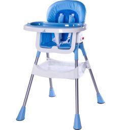 Стульчик для кормления Caretero Pop, цвет: синий