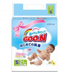 Подгузники Goon Mini Pack S (4-8 кг) 21 шт.