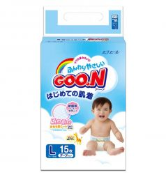 Подгузники Goon Mini Pack L (9-14 кг) 15 шт.