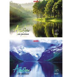 Альбом для рисования А4 40 листов Erich Krause На природе