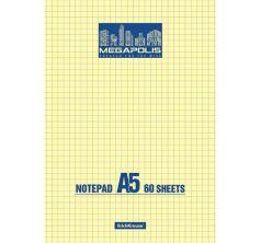 Блокнот А5 60 листов Erich Krause Megapolis