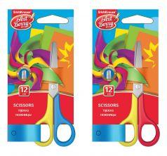 Ножницы длина: 125 мм материал ручек: металл тип колец: одинаковые ArtBerry