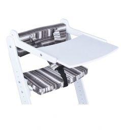 Комплект Конёк-Горбунёк столик на стул и ограничитель, цвет: белый/капучино