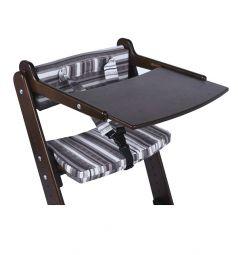 Комплект Конёк-Горбунёк столик на стул и ограничитель, цвет: тик/капучино