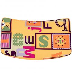 Подушка Конёк-Горбунёк на стул, цвет: кубик