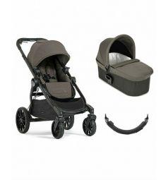 Коляска 2 в 1 Baby Jogger City Select Lux, цвет: серый/коричневый