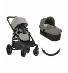 Коляска 2 в 1 Baby Jogger City Select Lux, цвет: серый