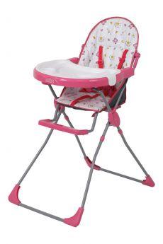 Стульчик для кормления Selby 251, цвет: розовый