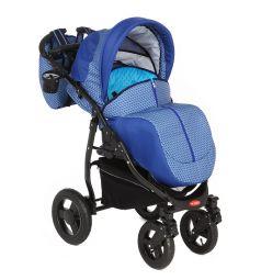 Прогулочная коляска Glory VERO black, цвет: синий