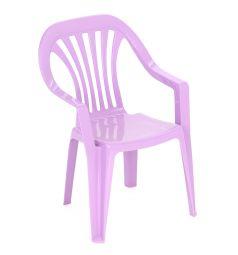 Детский стул Бытпласт, цвет:сиреневый