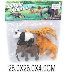 Набор Shantou Gepai Набор животных Jungle animal 4 шт