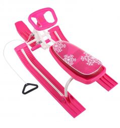 Снегокат Snow Rider 2 Sweet Baby, цвет: pink