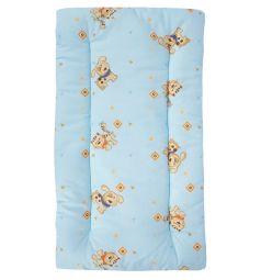Leader Kids Комплект в коляску Верные друзья подушка/матрас 2 предмета, цвет: голубой