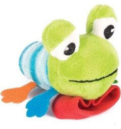 Мягкая игрушка-погремушка Happy Snail Лягушонок Квака