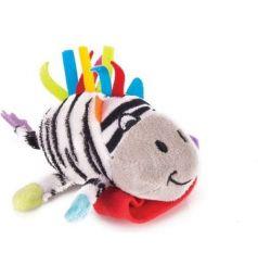 Мягкая игрушка-погремушка Happy Snail Зебра Фру-Фру