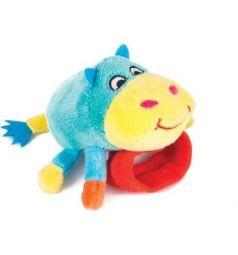 Мягкая игрушка-погремушка Happy Snail Бегемот Бубба