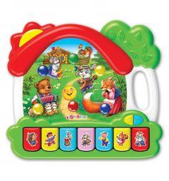 Интерактивная игрушка Азбукварик Домик Сказки 23 см