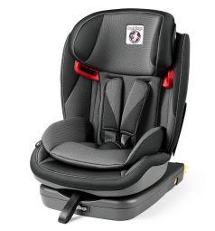 Автокресло Peg-Perego Viaggio 1-2-3 Via, цвет: серый/черный