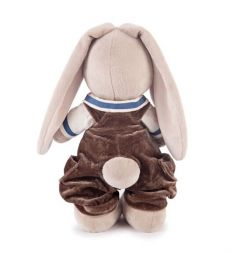 Мягкая игрушка Budi Basa Зайка Ми бархатный шоколад 32 см