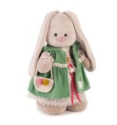 Мягкая игрушка Budi Basa Зайка Ми зеленая полынь 32 см